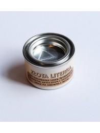Farby na żywicach akrylowych - Literka - złota