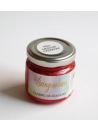 Pigmenty greckie - w paście - czerwień kadmowa średnia imitacja