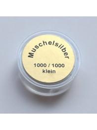 srebro muszelkowe - jasne 1000/1000