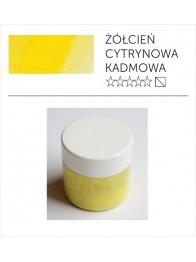 Pigment suchy - żółcień kadmowa cytrynowa imitacja