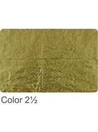 Szlagmetal 14x14 nr 2,5 złoto jasne transfer